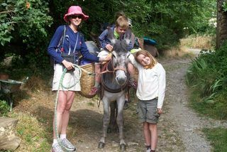 Hiking with a Donkey